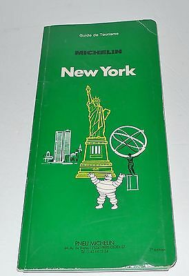 GUIDE-MICHELIN-NEW-YORK-1987-French-172-pages  GUIDE-MICHELIN-NEW-YORK-1987-Fre