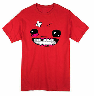 Super meat boy T shirt and Hoodie MEATBOY xbox360 indie games steam PC