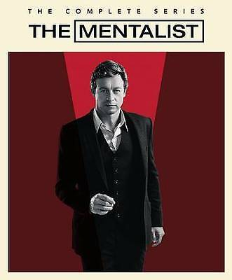 The Mentalist:COMPLETE SERIES- 1 2 3 4 5 6 7, DVD BOX SET, FREE SHIPPING,Sealed