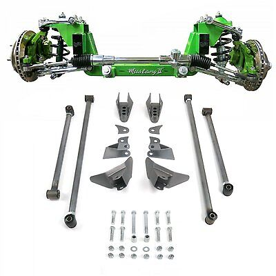 Mustang II 2 IFS Front Rear Suspension 1-3 in. Lowering kit for 1960-69 Mercury