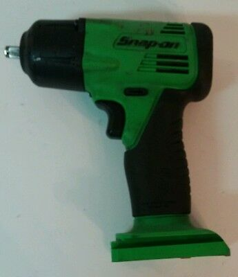 """Snap On CT4410 Cordless 14.4V Impact 3/8"""" Green - Bare Tool - Used - FREE SHIP"""