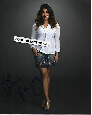 "Gina Rodriguez ""jane The Virgin"" In Person Signed 8X10 Color Photo 4"