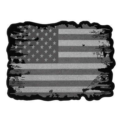 Subdued & Distressed American Flag Patch, Patriotic Patches