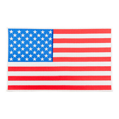American Flag White Border Patch, U.S. Flag Patches