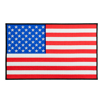 American Flag Black Border Patch, U.S. Flag Patches