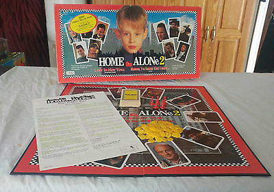 Vintage Home Alone 2 Board Game Lost in New York 1992 - 100% Complete