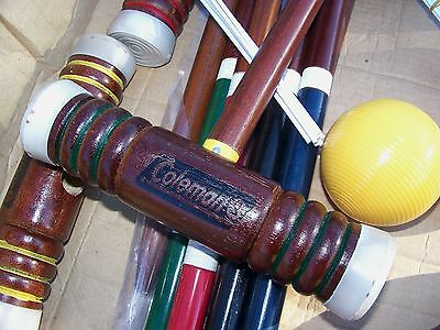 New Outdoor Sports Coleman Croquet Game Sets Backyard Games Set Sport Family Kid