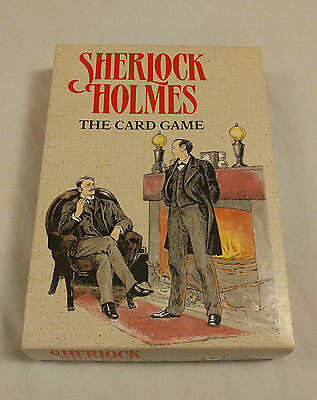 Sherlock Holmes The Card Game (Gibsons Games, Special Centenary Edition)