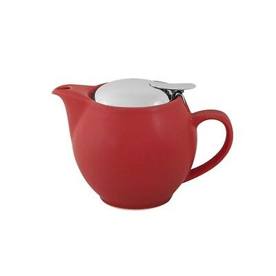 Bevande Tealeaves Teapot 350ml w/infuser NEW CAFÉ RESTAURANT COMMERCIAL QUALITY