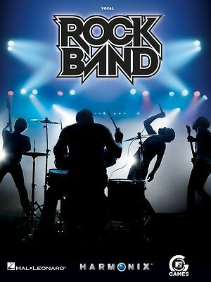 Rock Band - 25 Hits from the Video Game - Vocal Music Book