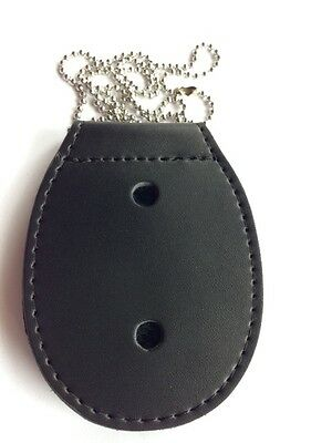 Belt Badge Holder with Removable Belt Clip + Neck Chain