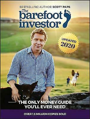 The Barefoot Investor by Scott Pape Paperback Book (English)