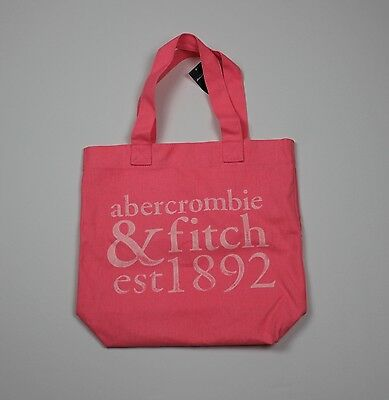 Abercrombie Kids New Girls Cute Pink Book Tote