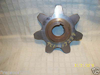 Gear Sprocket Roller Chain Gathering Pinion Z= 7 Teeth  New Unused