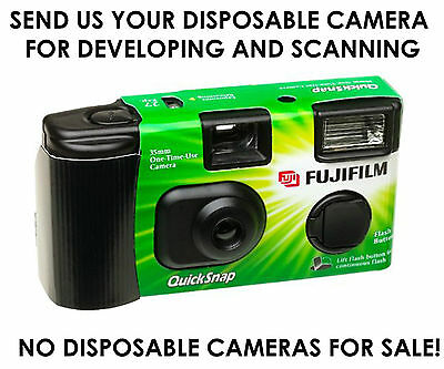 Disposable camera developing and scanning - Hi Res 18Mb files