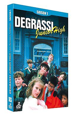 Degrassi - Junior High - Les Annees Colleges - Saison 1 - 2 Dvd Neuf