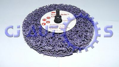 3M Scotch Brite Disc Xt-Zr Roloc 05814 Clean Sanding Strip Metal Abrasive Wheel