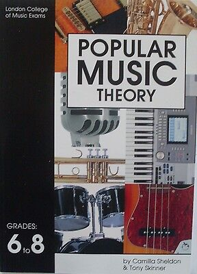 RGT london college of music Popular music theory grade 6 7 8