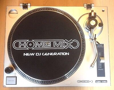 "1 X Homemix Turntable - 12"" Vinyl Record Player Pro 3 Deck Decks Rave Party Dj"