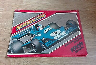 Vintage 1970s Scalextric Catalogue 19th Edition Racing F1