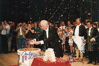 CONDUCTOR Carlos Kleiber autograph, signed photo
