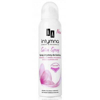 Oceanic AA Intimate Protection and Care Satin Underwear Clothing Spray 150ml