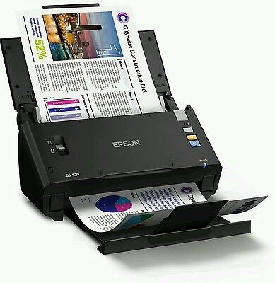 New Epson Workforce DS-520 A4 sheet fed USB Color Document Scanner +ADF+Duplexer