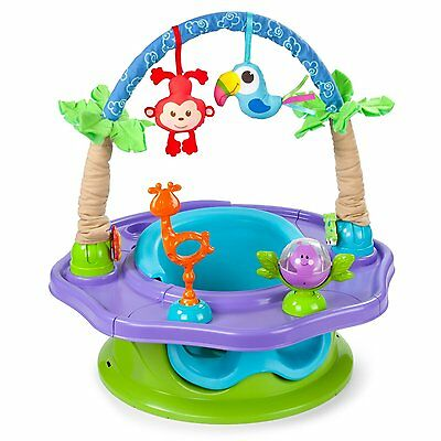 Summer Infant 3-Stage SuperSeat Deluxe Giggles Island: Positioner, Activity and