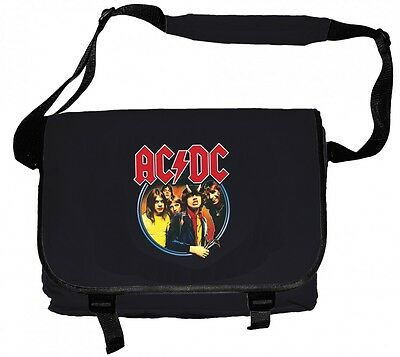 AC/DC 'Highway To Hell' Messenger Bag - NEW