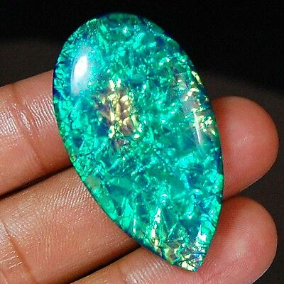 """51.10 Cts Aaa+ """"australian Triplet Opal"""" Classical Oval Gemstone Loose Cabochon"""