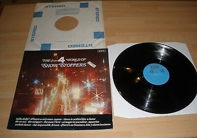"""The Phase 4 World Of Show Stoppers 12"""" Vinyl Lp Decca Stereo Spa 162 1971 Ex """""""