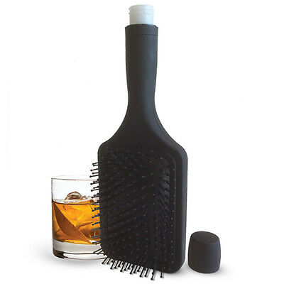 Booze Smuggling Hairbrush - Hidden Flask - hide your alcohol - stocking filler