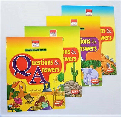 Islamic Quiz Series - Questions and Answers Books 1-4  Childrens Kids) PB