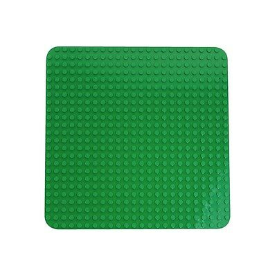 "Lego Duplo Large Building Plate- New Green Building Base 15""x 15"" Kid's Fun Toy."