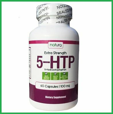 5-HTP Extra Strength 100 mg 60 Caps by Natura - Mood, Sleep - AUS STOCK