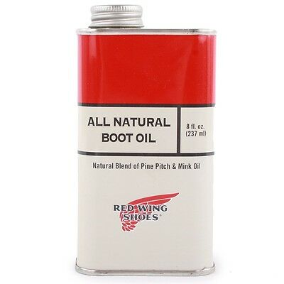 Red Wing Boot Oil 97103 All Natural Leather Accessories