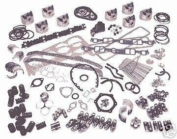 Ford Model A Master engine kit 1928-31 pistons rings gaskets gears lifters OPkit
