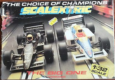 Scalextric 1987 28Th Edition Catalogue  Uk Dispatch.