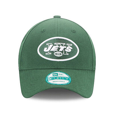 New Era 9forty NY New York Jets NFL The League Adjustable Curve Peak Hat Cap