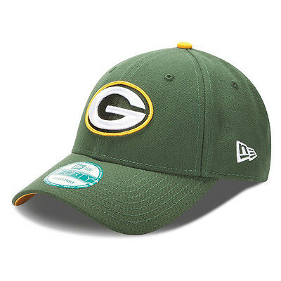 New Era 9forty Greenbay Packers NFL The League Curve Peak Navy Hat Cap