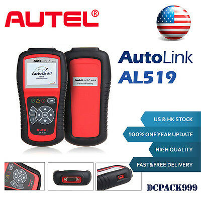 Autel AutoLink AL519 OBD2 Auto Diagnostic Tool CAN EOBD Car Code Reader Scanner