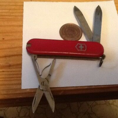 VIN. VICTORINOX SWISS ARMY MINI POCKET KNIFE WITH SCISSORS & MORE lot 1