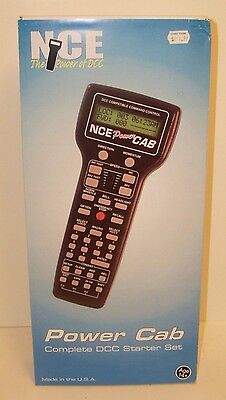 NCE #25 Power Cab Complete DCC Starter Set NEW
