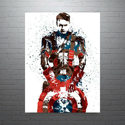 Civil War Captain America The Avengers Poster FREE US SHIPPING