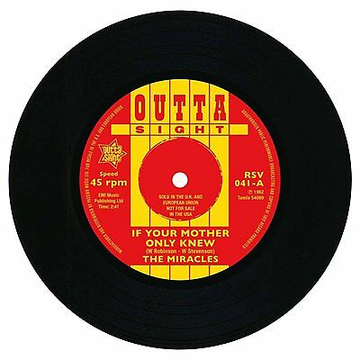 THE MIRACLES If Your Mother Only Knew NEW NORTHERN SOUL R&B 45 (OUTTA SIGHT)