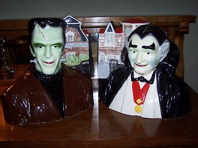 """RARE Herman Munster Cookie Jar! by """"Star."""" Numbered. PERFECT! The Munsters."""