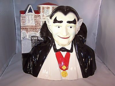 """RARE Grandpa Munster Cookie Jar! by """"Star."""" Numbered. PERFECT! The Munsters."""