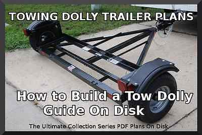 Towing Dolly Trailer Plans- Step By Step Guide On Disk Pdf - Build Your Own