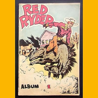 RED RYDER Album 1 Fred Harman Éditions Dupuis 1950