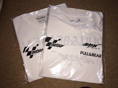 Team Issue Aspar Ducati Motogp Travel T-Shirt. New. Size Small.